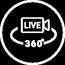 360 graden live stream